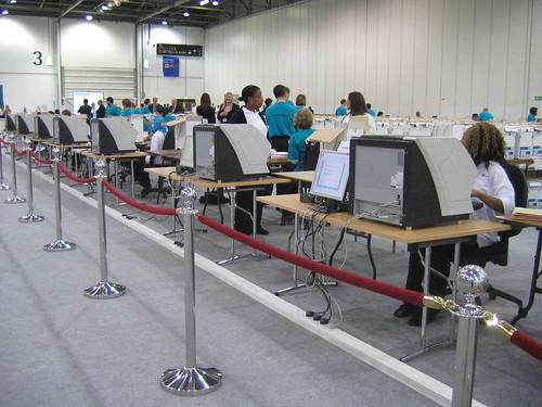 E-counting London ballots