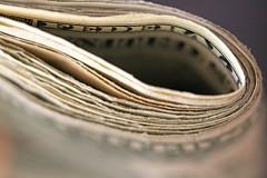 Folded Notes (j.towbin ©) Tags: bankroll notes banknotes moolah dollars wad cash money macro closeup dof canon macromondays week15depthoffield telephototuesday explore explored 7daysofshooting allrightsreserved© allrightsreserved©