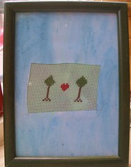stitched mother's day gift from  max