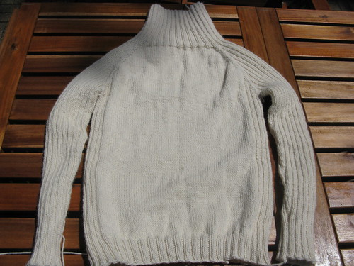 Finished Calvin Turtleneck