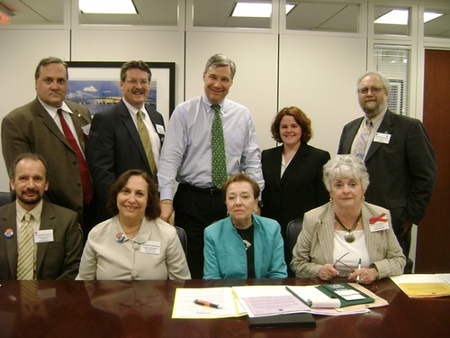 RI delegation with Senator Whitehouse