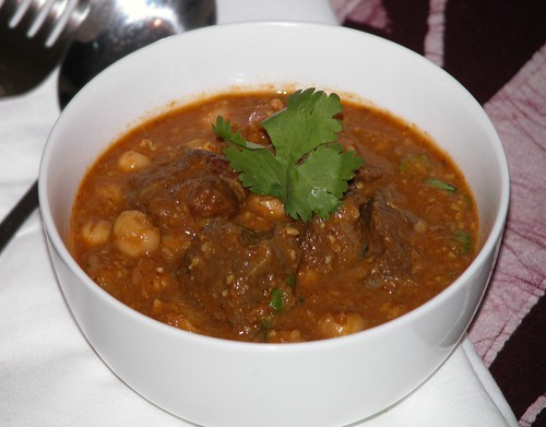 Beef & chickpea curry