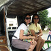 Aileen and Tin in a Kalesa