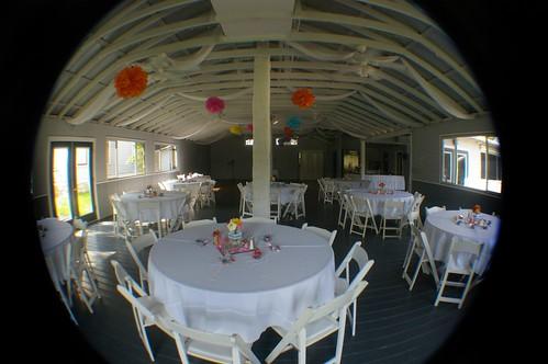 the reception hall