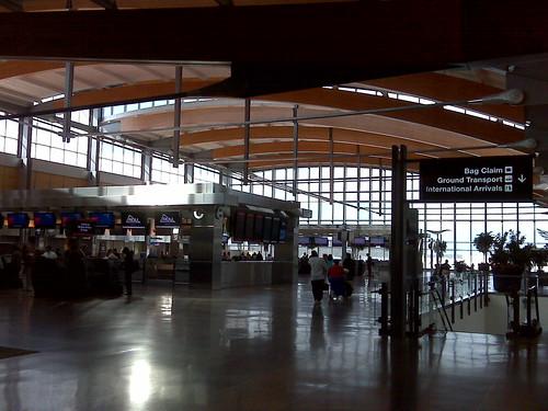 Terminal 2, RDU Like a dumbass I