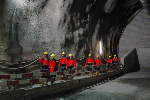 FW-Ausflug: Besichtigung NEAT-Baustelle (Amsteg)