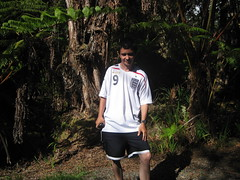 Outside the lava tube