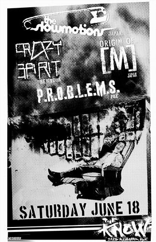 6/18/11 Slowmotions/OriginOfM/CrazySpirit/Problems