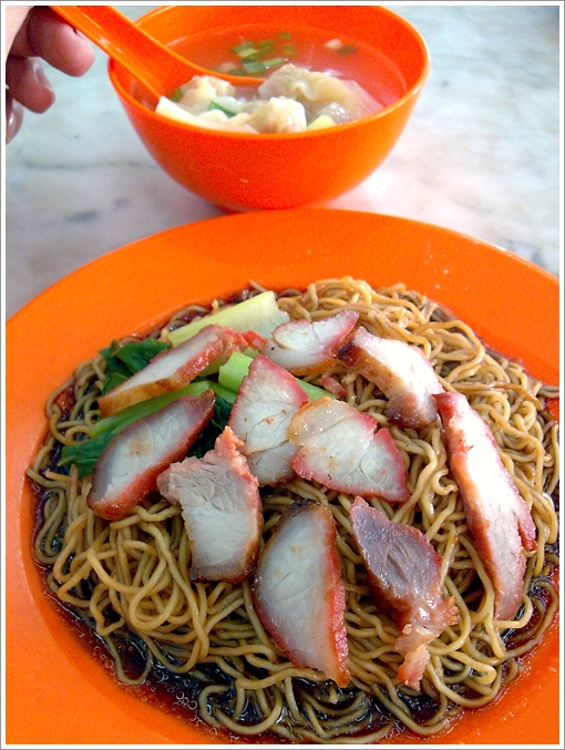 Wanton Mee with Char Siew