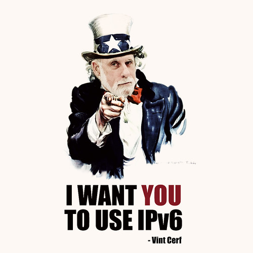 I Want You To Use IPv6 by b