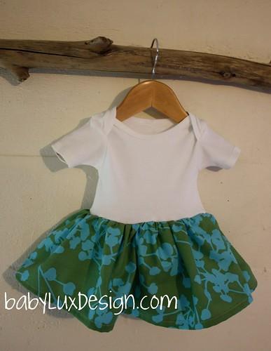 baby lux onesie dress