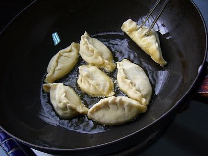 fry dumplings
