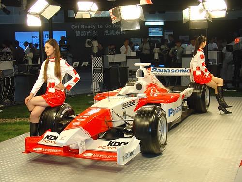 Toyota F1 girls
