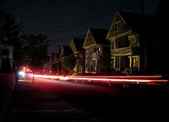 blackouts are fun (sandcastlematt) Tags: street longexposure night stars massachusetts somerville poweroutage blackout powerfailure bostonist 15seconds summerstreet lightstream universalhub mywinners