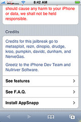 AppSnapp Installer for iPhone 1.1.1