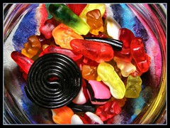 yummmmmmmmmmmmy (The Tree Frog ) Tags: food color candy sweet colori dolci caramelle gommose flickrelite colourartaward