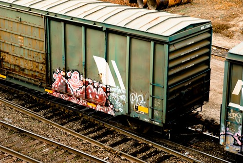 Graffiti on the Tracks