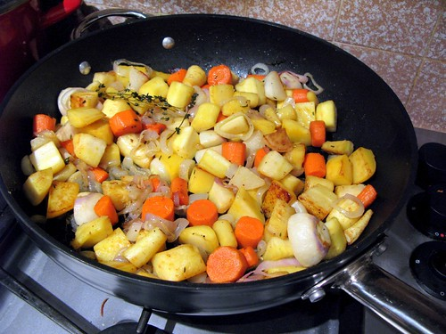 Sauteed Root Vegetables