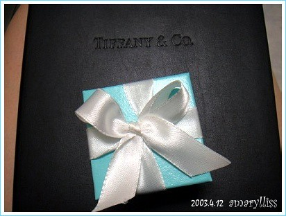 [紀念] I got a blue box on April 13, 2003 @amarylliss。艾瑪[隨處走走]