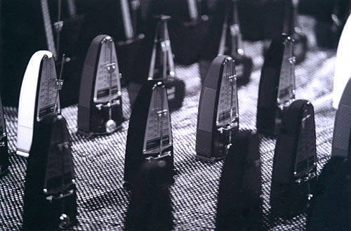 Symphony for 100 Metronomes
