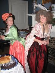 the fun begins! (hummeline) Tags: costume colonial revolution gown 18thcentury twelfthnight 18thc eighteenthcentury 1780s 1790s