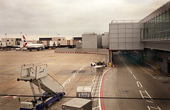 London Heathrow Airport (Zheng.vivi) Tags: china leica uk england favorite color london plane landscape airport fuji heathrow realia
