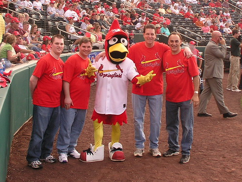 HQ4 and Louie, Springfield Cardinals Mascot