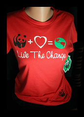 WWF T-Shirts in Juniors Dept at JCPenneys (electra-cute) Tags: clothing panda tshirt wwf worldwildlifefund jcpenneys pandabase