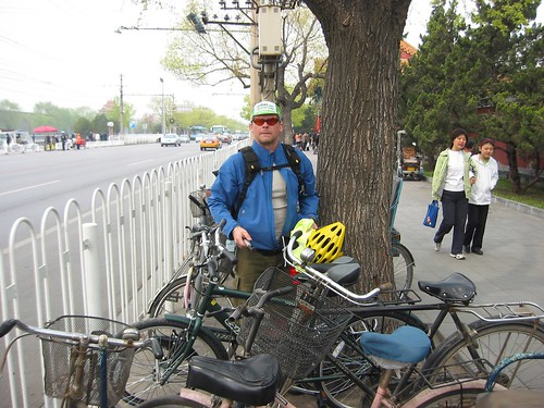 Blogging Beijing by Bike: stashing bikes