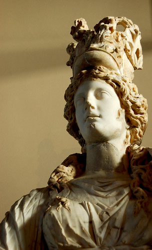 Statue of Tyche, goddess of fortune