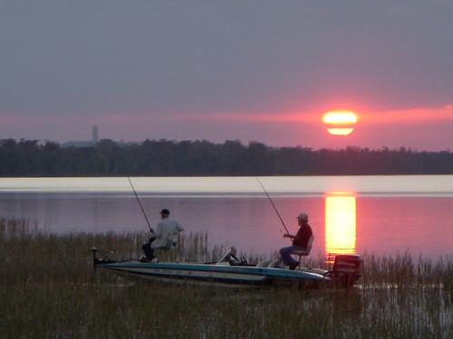 Sunset on the lake 2