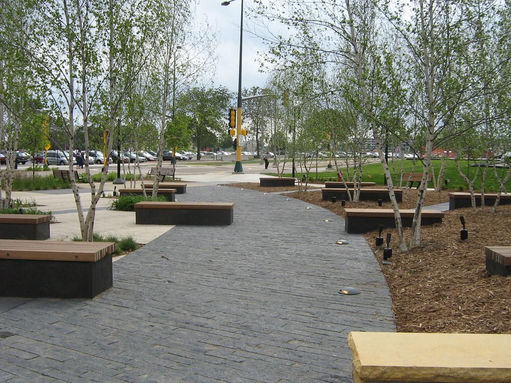 granite paver walk
