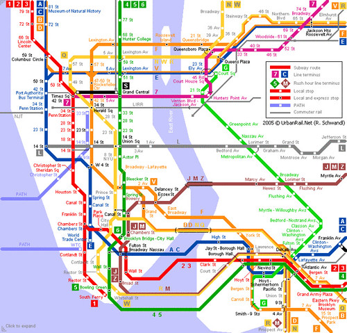 most US cities don't have New York's extensive subway system