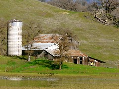Barn & Silo After Rains (judi berdis) Tags: barn silo nca bachelorvalley