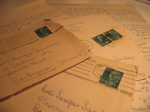 Cartas y sobres