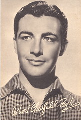 Robert Taylor (ART NAHPRO) Tags: vintage hollywood postcards movies actor roberttaylor