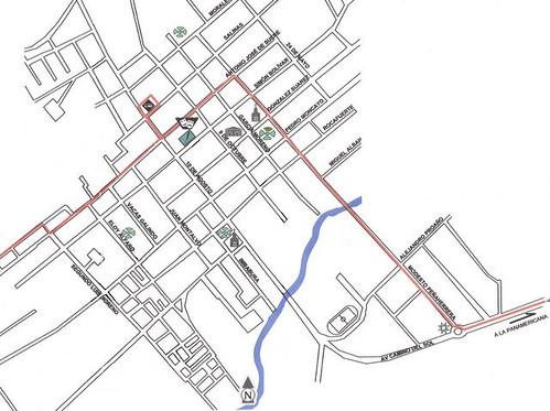 Steve's Cotacachi street map