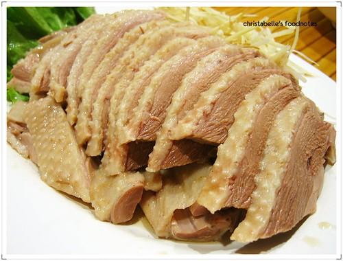 台灣鵝肉食堂鵝肉
