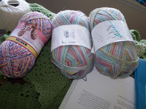 Recent Yarn Purchases