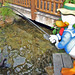 Donald Fishing, Camp Minnie-Mickey - Disney's Animal Kingdom, Walt Disney World