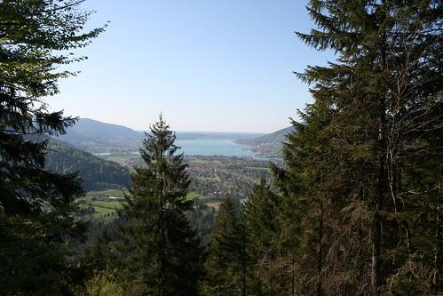 Vue sur le Tegernsee