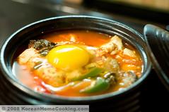 Kimchi Soft-Tofu Soup (김치순두부)