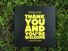 Kanye West - Thank You and You're Welcome - Cover