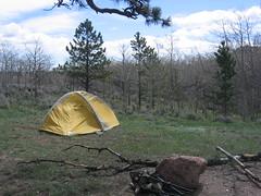Gusty Vedauwoo Camping