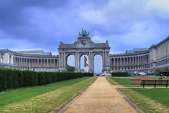 Brussels gate (Mike G. K.) Tags: brussels gate statues arches victory hdr photomatix singlejpghdr