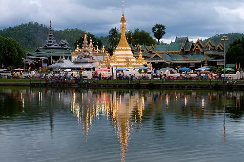 Wat Jong Kham, Mae Hong Son