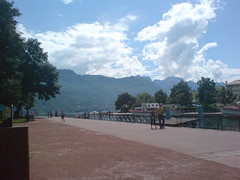 Lake front Annecy