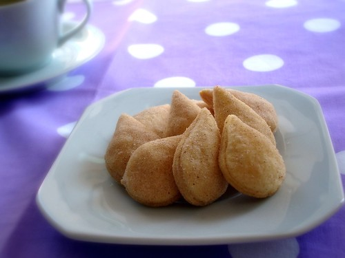 Apple filled cookies