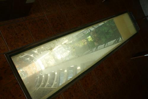 10樓的玻璃地板