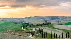 Baccoleno Tramonto (ClaudioMio_) Tags: 1685mm 2017 d5100 nikkor nikkor1685mm nikon nikond5100 panorama siena toscana tuscany italia italy landscape baccoleno sunset tramonto asciano ngc